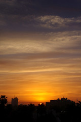 Sunrise over Baghdad (BillAnd) Tags: sunrise cloud golden baghdad iraq