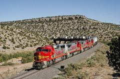 ATSF 124 West at Abo Canyon, NM (thechief500) Tags: atsf abocanyon bnsf clovissubdivision railroads