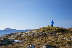 Hike to Kvassnesodden (G E Nilsen) Tags: hike kvassnesodden torghatten island mountain sea sky norway nordnorge northernnorway norwegiancoast