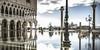 Aqua Alta (alexanderkoch) Tags: outdoor venedig venezia wasser workshop markusplatz aqua alta hochwasser spiegel spiegelung wolken