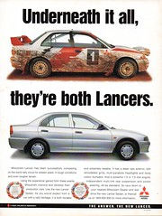 1999 Mitsubishi Lancer Sedan Aussie Original Magazine Advertisement (Darren Marlow) Tags: 1 9 19 99 1999 m mitsubishi l lancer s sedan c car cool collectible collectors classic a automobile v vehicle j jap japan japanese 90s