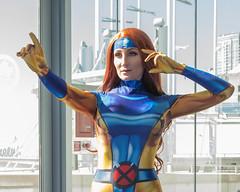 X Men  -Jean Grey Close Up (b.m.a.n.) Tags: cosplay nikond850 jeangrey marvel xmen torontocomicon toronto ontario canada ca