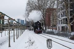 2018 Dampflok am Mainufer (mercatormovens) Tags: frankfurt mainufer city dampflok zug winter