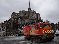 Emergency Vehicle - Mont Saint-Michel, France (mattybecks3) Tags: cathedral europe europeanunion fr france montsaintmichel travel wanderlust ngc natgeo eu