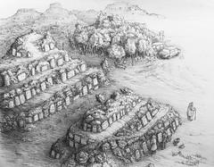 Tumuli (finished) (Marcos Telias) Tags: dibujo dibujante sketch boceto doodle drawing art artist chile chilean illustrator illustration ilustración strange