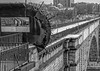 The High Bridge across the Harlem River, NYC (The Light Cavalry) Tags: highbridge galleries usa mono uppereastside travel effectsonone nyc