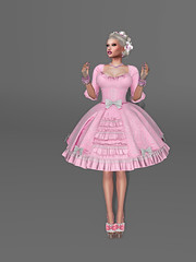 Welcome back, Alice! (The outfit) (Blondi Daseyah) Tags: violentseduction thesugargarden tsg lybra realevil formanails euphoric miamai catwa maitreya slink ikon amarabeauty amara izzies studioexposure se