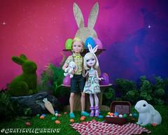 Happy Easter Fairytales. #bunnyblunc #alistairwonderland #everafterhigh (GrayskullWarriorToys) Tags: bunnyblunc alistairwonderland everafterhigh
