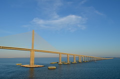 Sunshine Skyway Bridge (Neal D) Tags: florida tampa bridge sunshineskywaybridge tampabay