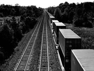 Freight Train, Northumberland County, Canada