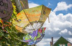 Claude Monet umbrellas (julesnene) Tags: canon7dmark2 canon7dmarkii canonefs1755mmf28isusm claudemonet france giverny juliasumangil lesjardinsdeclaudemonet monet womanwithparasol art julesnene parasol poppies travel umbrella waterlilies normandie fr