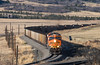 Resistance in Curve and Grade (Jake Branson) Tags: train railroad locomotive bnsf colorado co joint line coal divide mountain palmer ge es44ac gevo 6038
