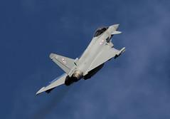 Flt. Lt. Jim Peterson Typhoon display practice 500ft. RAF Coningsby 26/03/18. (Purple Jaguar) Tags: flt lt jim peterson typhoon display practice 500ft raf coningsby 260318 2018 bring the noise