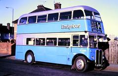 Slide 116-64 (Steve Guess) Tags: dagenham barking london essex england gb uk bus aec regent iii rt rt3232 kyy961 lrt regional transport