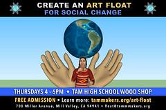 Art Float for Social Change - February 2018