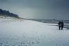 spring at Baltic Sea (mad_airbrush) Tags: 5d 5dmarkiii deutschland germany weather winter spring snow cold schnee kalt stürmig schneesturm ostsee balticsea strand beach zingst seebrücke ostern eastern 2470mm ef2470mmf28l
