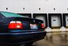 IMG_0368 (Alex Wilson Photography) Tags: bmw e39 bmwpower power m sport msport cool fun 2003 2000 2001 2002 525i 5 series sporty sedan euro european luxury josh groban docks loading bay dock industrial area park kidney grill front windshield car vehicle