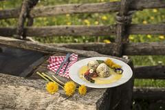 Spezialitäten mit Löwenzahn (Naturpark Almenland) Tags: almenland naturpark steiermark urlaub sommer sommeralm teichalm österreich oststeiermark