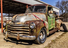Needs a Little Paint (Kool Cats Photography over 9 Million Views) Tags: chevy truck pickup green rusty abandoned wheels tires