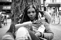 IMG_8403 (JetBlakInk) Tags: afro brixton portrait women streetphotography streetscene dreadlocs enigmaticsmile face hardtimes downtoearth streetportrait