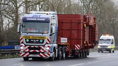 ZG 4000 TS (panmanstan) Tags: man tgx wagon truck lorry commercial international wideload freight transport haulage vehicle a63 everthorpe yorkshire