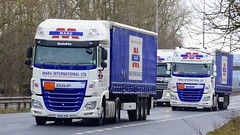 YK14 ZDG plus 2 (panmanstan) Tags: daf xf wagon truck lorry commercial freight transport haulage vehicle a63 everthorpe yorkshire