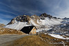 Col du Galibier (My Planet Experience) Tags: col galibier coldugalibier pass mountain snow blue sky stone house route grandes alpes routedesgrandesalpes road alps alpine savoie hautesavoie hautesalpes landscape france fr myplanetexperience wwwmyplanetexperiencecom