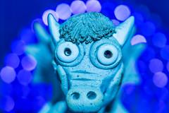 Blue Dragon (SKAC32) Tags: canonef100mmf28macrousm macromondays theblues ceramic dragon