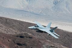 VFA-122 F-18E entering Rainbow Canyon (SBGrad) Tags: 200500f56evr 2018 alr d300s deathvalleynationalpark jeditransition nikkor nikon r2508 rainbowcanyon starwarscanyon superhornet vfa122