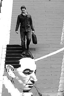 Walking on the head