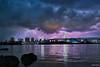 Lightning - 稲光 (uemii2010) Tags: japan tokyo rainbowbridge thunder お台場