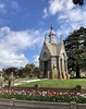 Spring at Mountain View (Melinda Stuart) Tags: historic landscape victorian cemetery tulips spring flowershow mausoleum tree ca grass sky clouds