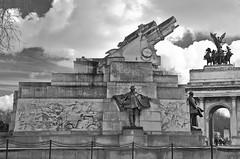 Australian War Memorial (Lond (rickybon) Tags: australian war memorial london sculpture bw pentaxk5 pentaxflickraward pentaxart pentax k5 riccardobonelli