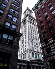 Custom House (TomBerrigan) Tags: architecture boston massachusetts custom house mass pixel google alignment
