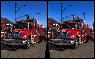 Thunder Bay Fire Department 3-D / CrossView / Stereoscopy / HDRaw