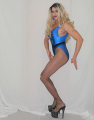 My CdR Malaga review (queen.catch) Tags: catchqueenyoutube video pantyhose review drag queen heels cecilia de rafael malaga nylons legs tranny genderplay femboy feminization wig makeup leotard bathing suit