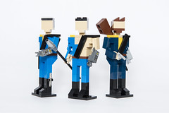 War never changes (andresignatius) Tags: lego fallout fallout2 fallout3 miniland thechosenone thevaultdweller thelonewanderer