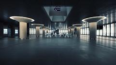 gotham city (christian mu) Tags: architecture germany köln cologne underground subway metro ubahn urban chlodwigplatz haltestellechlodwigplatz station christianmu 15mm 1545 voigtländer1545 voigtländer sony sonya7riii sonya7rm3