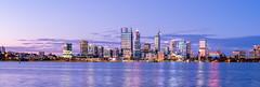 A Big Country Town (Khem A.) Tags: abigcountrytown perth cbd westernaustralia australia cityscape skyline mediumformat fujifilm gfx50s gfx 23mm architecture twilight bluehour swanriver southperth