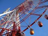 Ferris wheel (Odaiba palette town) (Yukie Usami) Tags: red blue ferris wheel