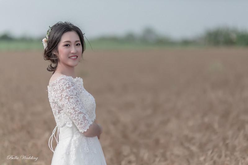 嘉義新秘,新秘,學甲小麥田,韓風優雅盤髮,小麥田婚紗,飛紗婚紗