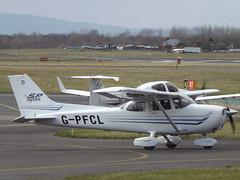 G-PFCL Cessna Skyhawk 172 Private (Aircaft @ Gloucestershire Airport By James) Tags: gloucestershire airport gpfcl cessna skyhawk 172 private egbj james lloyds