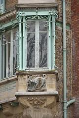 Échauguette du Castel Béranger d'Hector Guimard à Paris (dalbera) Tags: dalbera artnouveau castelbéranger hectorguimard paris france échauguette ferronnerie