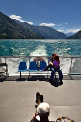 People Taking in the Back of the Ferry Boat (thor_mark ) Tags: azimuth151 blueskies bluesskieswithclouds boatride boatridetostehekin boatstern boatwake capturenx2edited cascaderange chelanmountains colorefexpro day4 ferryride frombackofboat frombackofship hillsideoftrees ladyofthelake lake lakechelan landscape lookingse methowmountains mountains mountainsindistance mountainsoffindistance nature nikond800e northcascades northchelanmountains okanoganwenatcheenationalforest outside pacificranges partlycloudy peopleonbackofboat personsittingonbackofboat portfolio project365 rollinghillsides sawtoothridge shipwake sunny triptonorthcascadesandwashington wake okanoganwenatcheenationalfore washington unitedstates