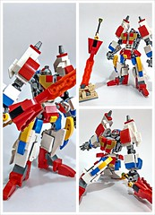 Lego Nexo Knights Lance batter suit X Transformer Star Saber (c_s417) Tags: lego nexo knights lance batter suit transformer star saber moc mech 70366 sword crossover