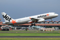 9V-JSO Jetstar Asia Airways Airbus A320-232 at Jakarta Soekarno-Hatta Airport on 27 February 2018 (Zone 49 Photography) Tags: aircraft airliner airplane aeroplane february 2018 wiii cgk jakarta indonesia soekarno hatta soekarnohatta international airport 3k jsa jetstar asia airways airbus a320 320 200 232 9vjso jetstarasiaairways
