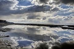 Speak to the wild (pauldunn52) Tags: beach reflections rock pool cliffs glamorgan heritage coast wales temple bay