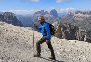 Dolomites is an eldorado for all climbers and mountaineers!