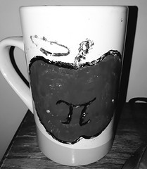 Mug of Apple Pi (BeatyInTheLittleThings) Tags: pi apple mug math teacher