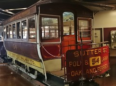 Trailer Car 54 (SPRRFAN) Tags: cablecar trolley transit city museum clerestorycoachusstock california 19thcentury tram